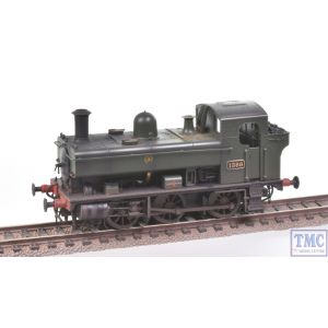 1320 Heljan OO Gauge Class 1366 0-6-0PT 1366 GWR Green Shirtbutton Real Coal & Weathered by TMC