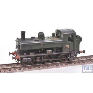 1320 Heljan OO Gauge Class 1366 0-6-0PT 1366 GWR Green Shirtbutton Real Coal & Weathered by TMC