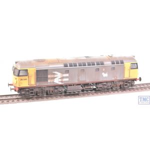 2640 Heljan OO Gauge Class 26/1 26040 Railfreight Grey with Extra Detail Weathering by TMC