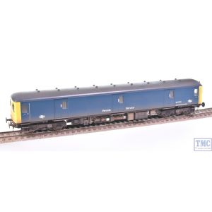 89931 Heljan OO Gauge Class 128 DPU B Parcels Service M55990 BR Blue (Full Yellow Ends) Weathered by TMC (Pre-owned)
