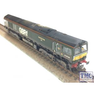 371-398 Graham Farish N Gauge Cl.66 66779 Evening Star GBRf Brunswick Green Etched Plates & 3D Printed Bells Fitted Weathered by TMC
