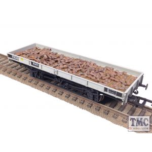 PWL3 'Dog Bone' Pig Iron Loads for Plate Wagons Approx 180 Pcs per Pack Weathered & Crafted by TMC