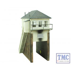 44-172Z Scenecraft OO Gauge Over Rail Signal Box TMC Limited Edition