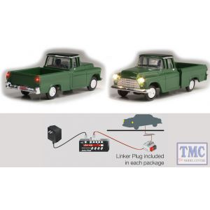 JP5590 Woodland Scenics OO/HO Scale Green Pickup