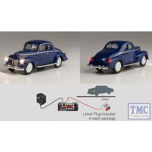 JP5598 Woodland Scenics OO/HO Scale Blue Coupe