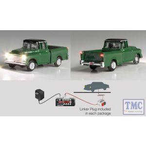 JP5610 Woodland Scenics N Scale Green Pickup