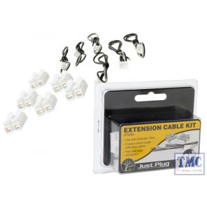 JP5684 Woodland Scenics Just Plug Extension Cable Kit