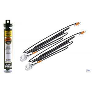 JP5736 Woodland Scenics Just Plug Orange Stick-on LED Lights