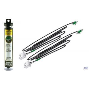 JP5737 Woodland Scenics Just Plug Green Stick-on LED Lights