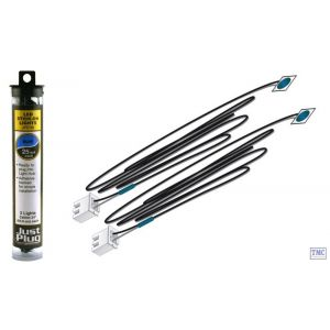 JP5738 Woodland Scenics Just Plug Blue Stick-on LED Lights