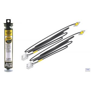 JP5742 Woodland Scenics Just Plug Yellow Stick-on LED Lights
