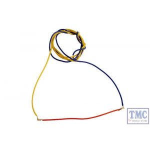 NH2RD DCC Concepts N/HO/OO Scale Red 2 Light Nano Harnesses (6)