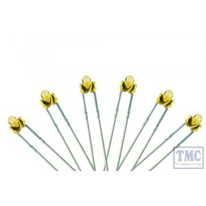 LED-PWD DCC Concepts N/TT/HO/OO/O/G Scale 1.8mm Microdot LED Prototype White (6)