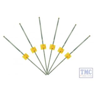 LED-PWM DCC Concepts N/TT/HO/OO/O/G Scale 1.6mm Mini Butterfly Type Prowhite LED (6)