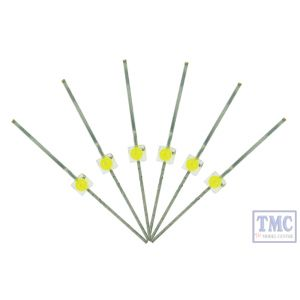 LED-SWM DCC Concepts N/TT/HO/OO/O/G Scale Daylight 1.8mm LED x 6 (for 1980s + Diesel Era)