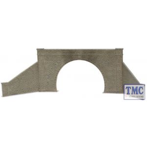 LK-732 Peco O Gauge Tunnel Mouth & Walls stone type double track Plastic Kit
