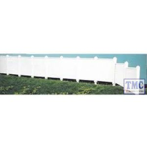 "LK-744 Peco O Gauge Concrete Fencing SR Type 33"" per pack Plastic Kit"