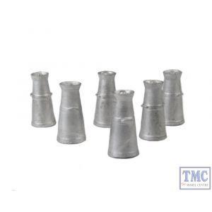LK-751 O Gauge Milk Churns 9cast white metal) Peco