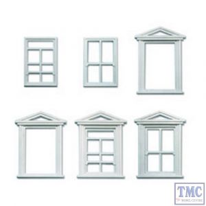 LK-756 Peco O Gauge Windows & Frames Plastic Kit