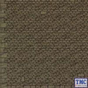M0058 Metcalfe OO/HO Gauge Semi Cut Stonework B1 Style