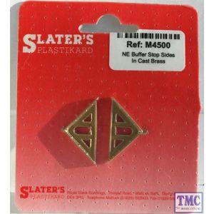 M4500 Slaters OO/HO Gauge NE Buffer Stop sides in cast brass