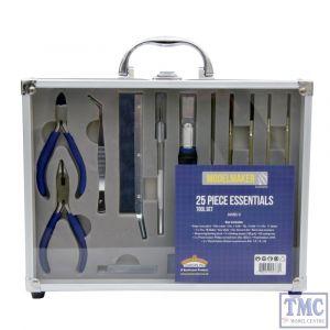 MM014 Bachmann Modelmaker 25 Piece Essential Model Maker Tool Set