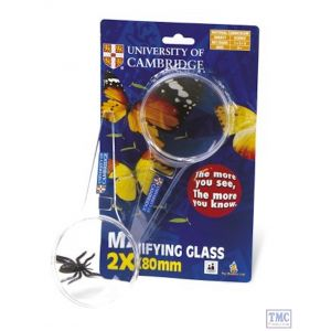 University of Cambridge - Magnifying Glass 2x.5x80mm