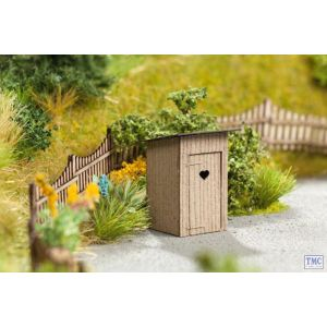 N14359 Noch HO/OO Scale Outhouses (2)