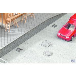 N14432 Noch TT Scale Drain Covers (25)