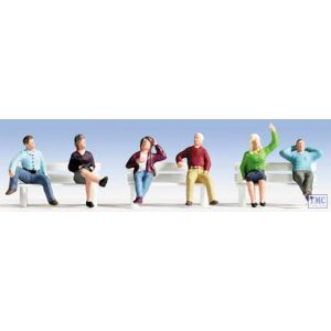 N15540 Noch HO/OO Scale Sitting People