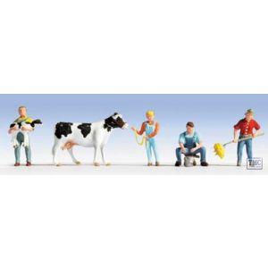 N15624 Noch HO/OO Scale Dairy Farmers