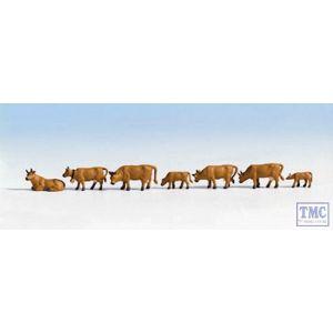 N15722 Noch OO Gauge Cows - Brown (7)