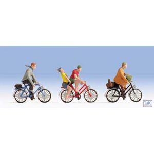 N15898 Noch HO/OO Scale Cyclists