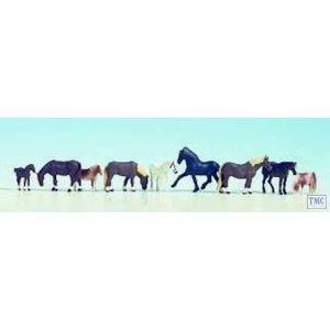 N36761 Noch N Scale Horses (9)