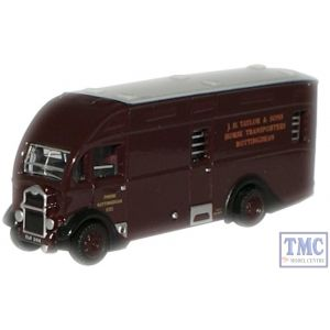 NAH003 Oxford Diecast 1:148 Scale J H Taylor & Sons Albion Horsebox