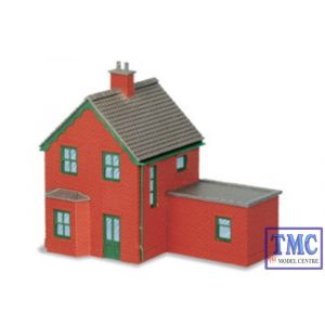 NB-14 Peco N Gauge Station Houses brick type Kit