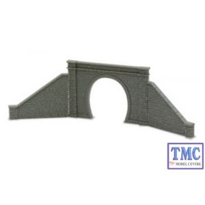 NB-31 Peco N Gauge Tunnel Mouth & Walls stone type single track Kit