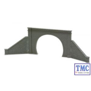NB-32 Peco N Gauge Tunnel Mouth & Walls stone type double track Kit