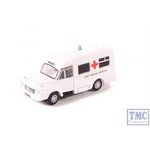 NBED006 Oxford Diecast N Gauge Bedford J1 Ambulance Army Medical Services