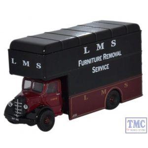 NBP004 Oxford Diecast LMS Bedford Luton Van 1/148 Scale N Gauge