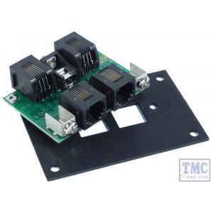 UTP Panel NCE Cab Bus fascia panel w/RJ12 connectors