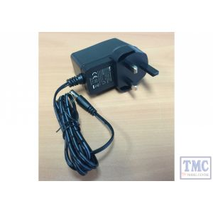 P114-UK (524221) NCE UK Version 13.8 Volt DC 24w 1.8A (2A Peak) Power Supply for Power Cab and DCC Concepts Sniffer