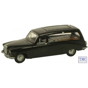 NDS002 Oxford Diecast Black Hearse Daimler DS420 1/148 Scale N Gauge