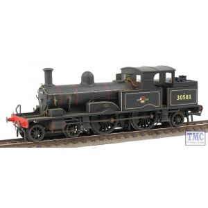 OR76AR001 Oxford Rail OO Gauge Adams Radial 4-4-2T 30583 BR Black Late Crest with Real Coal & Weathered by TMC