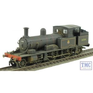OR76AR002 Oxford Rail OO Gauge Adams Radial 4-4-2T 30584 BR Black Early Crest Real Coal & Weathered by TMC