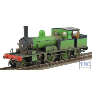 OR76AR003 Oxford Rail OO Gauge Adams Radial 4-4-2T Southern Green 488 Real Coal & Weathered by TMC