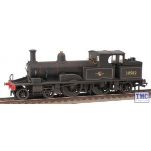 OR76AR004 Oxford Rail OO Gauge Adams Radial 4-4-2T 30582 BR Black Late Crest Real Coal & Weathered by TMC
