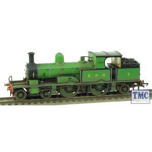 OR76AR005 Oxford Rail OO Gauge Adams Radial 4-4-2T no.5 East Kent Railway Real Coal & Weathered by TMC