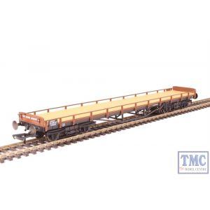 OR76CAR001 Oxford Rail OO Gauge Carflat B748747 BR Bauxite and Black