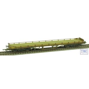 OR76CAR002 Oxford Rail OO Gauge Carflat BR Faded/Worn Weathered by TMC